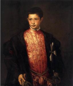 Titien - Portrait de Ranuccio Farnese