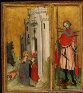Provence, retable de Thouzon, 1410, musée du Louvre