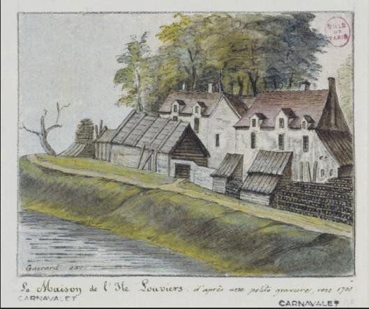 Ile Louviers 1700